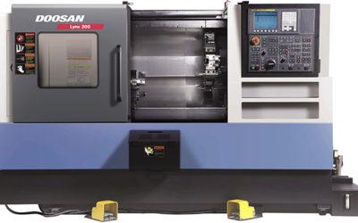 Torno CNC de la marca Doosan Lynx